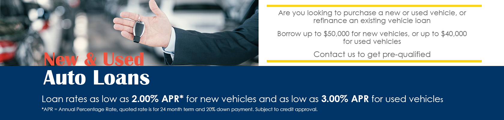New and Used Auto Loans
